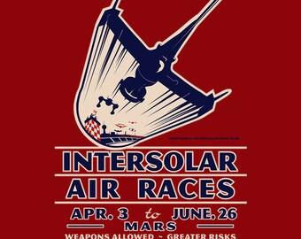 Intersolar Air Races - Swordfish II Men's Unisex T-Shirt - Anime Air Racing Vintage Clothing