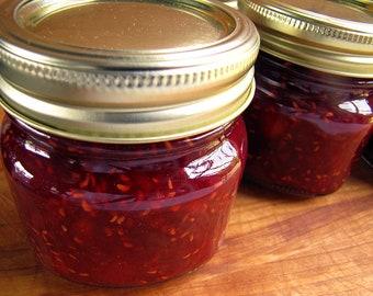 Mango Raspberry Jam, 8 ounce, Jams, Jellies, Mango Jam, Raspberry Jam