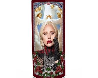 Lady Gaga Prayer Candle