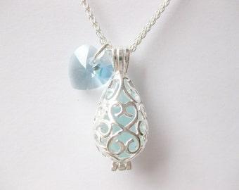 Sea Glass locket Beach Glass locket  Handmade, Custom Jewelry