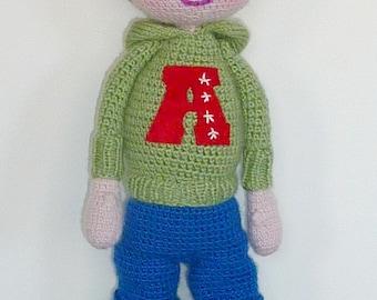 Jocelyn doll boy Red Hat
