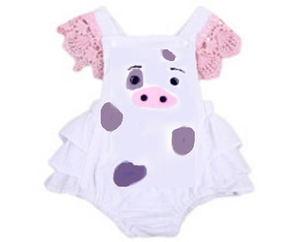 Moana Pua Baby Infant Girl Romper Sun suit Outfit Birthday