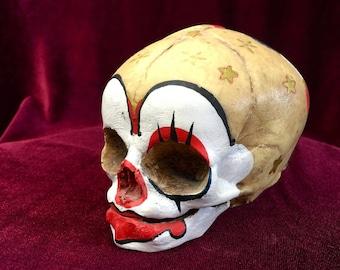 Newborn Skull. Infant's Skull. Baby Skull. Clown Skull. Circus skull.