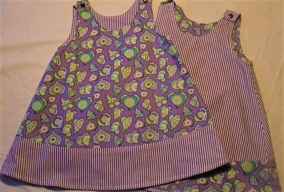 Designer Girls Reversible Dresses