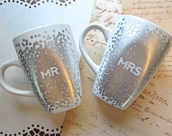 Mr And Mrs Mugs, Carry Your Heart Custom Mugs, Mr Mrs Mugs, His And Hers Mugs, His Hers Mugs, Mr Coffee Mugs, Wedding Anniversary Mugs