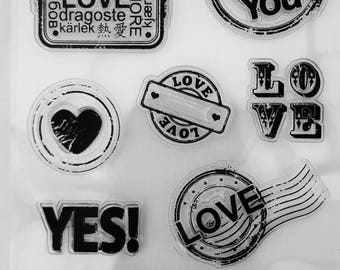 Love Clear Stamp Set