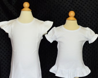 Upgrade to Ruffle Shirt or Bodysuit or Flutter Sleeve Shirt