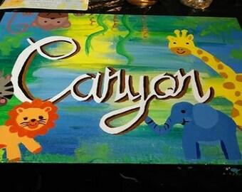 Customized Children's Wall Art