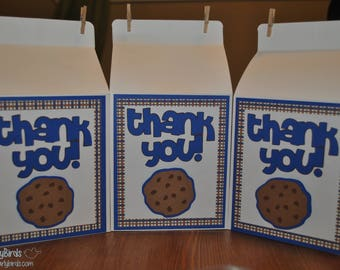 Milk & Cookies Party Carton Favors