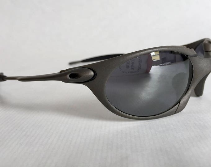 Oakley X Metal Romeo 1 Vintage Sunglasses New Old Stock including X Metal Vault, Coin and Spare Lenses