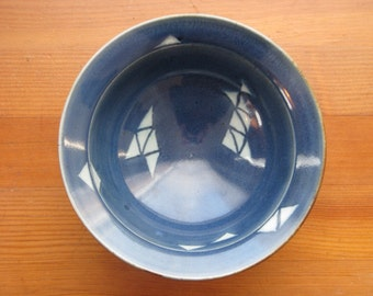 Ceramic Ice Cream Bowl, Cereal Bowl, Soup Bowl, Blue