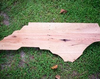 North Carolina Wooden Cutout