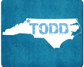 Todd North Carolina Magnet