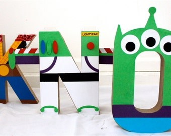 Toy Story Letter Decor, Party decor, toy story party