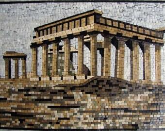 Greek Ruin Mosaic
