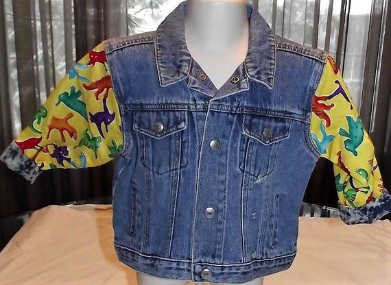Refurbished Demin Jacket Boys, Size 18-24mo