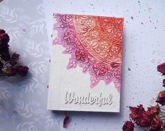Mixedmedia Journal, Handmade Journal, Notebooks, Art Journal, Handmade notepad