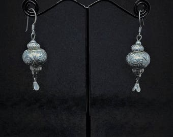 South East Asian Style Sterling Silver  Earrings