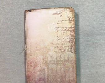 Handmade journal - Junk Journal  - Traveler's Notebook Insert
