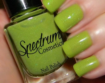 INCH WORM Pastel Green  Nail Polish