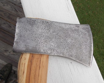 Axe Craftsman single bit axe with new 36 inch handle of American Hickory