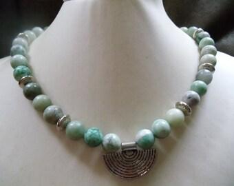 Qiunghai jade nature of statement jewelry Neclaces