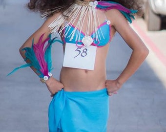 Tahitian & Cook Islands, Rarotongan Headpiece. Headpiece is perfect for all ages.