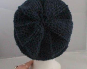 Very soft Beanie wool T56 embossing