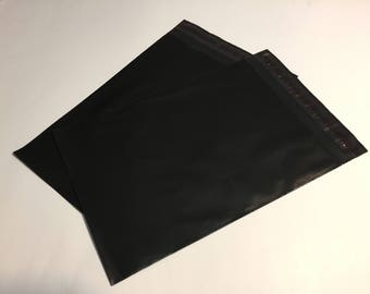 50  6x9 BLACK Poly Mailers  Self Sealing Envelopes Shipping Bags Halloween