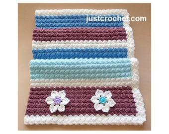 Crochet Everyday Blanket Baby Crochet Pattern (DOWNLOAD) FJC19
