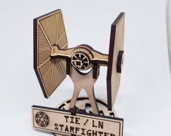Star Wars Tie Fighter with Stand