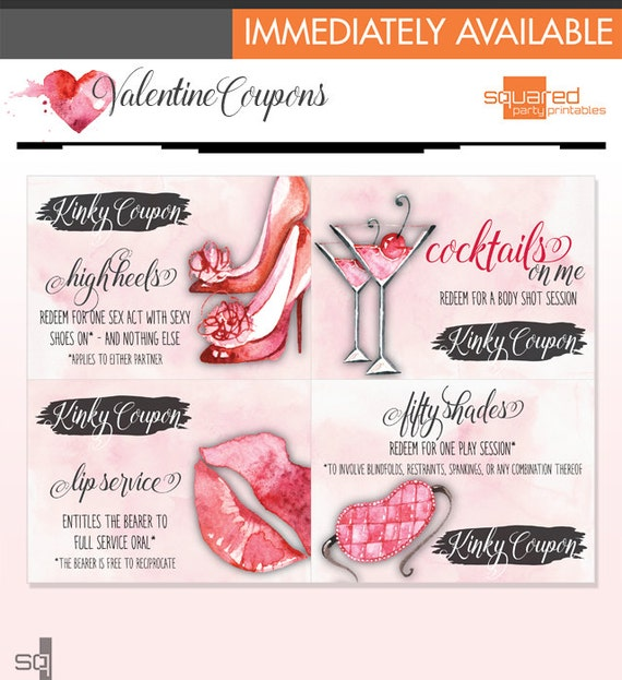 sexy valentine's day gift printables instant download, Ideas