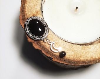 Plugs/ear plug 'Black Moon'