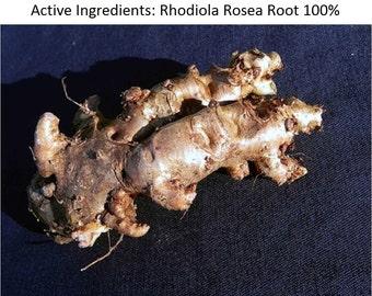 WILD Siberian RHODIOLA ROSEA Root 0.88 Lb (400 Grams); 2017 Harvest; Golden Root; Place of Origin Altai Region (Russia/Siberia)