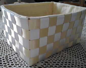 Yellow Ribbon Basket