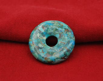 Turquoise Donut 40mm Size