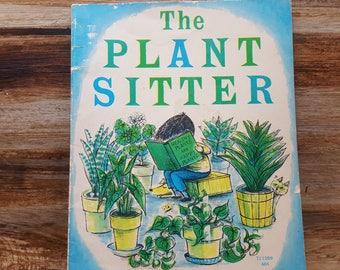 The Plant Sitter, 1969, READ DESCRIPTIONS,  Gene Zion, Margaret Bloy Graham, vintage kids book