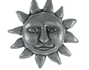 Sunface Lapel Pin - CC393- Sun, Solstice, and Summer Pins