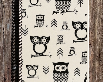 Owls and Arrows Journal - Owl Notebook - Owls and Arrows