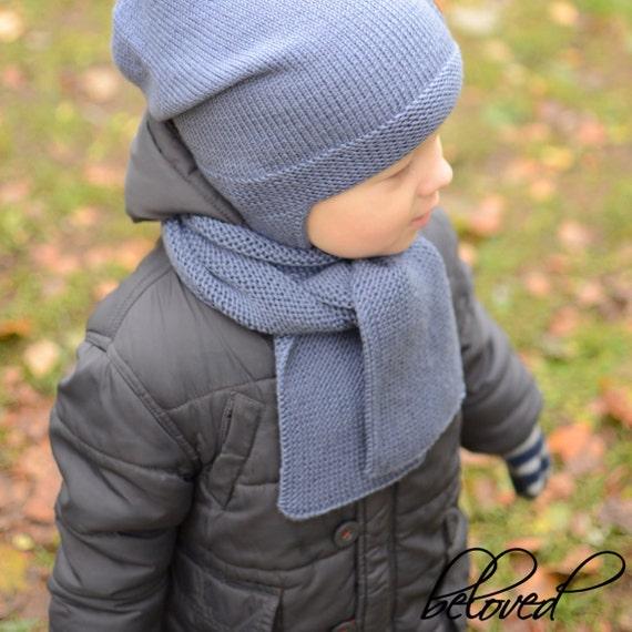 Kinder Schal Merino-Wolle-Kleinkind-Schal langer