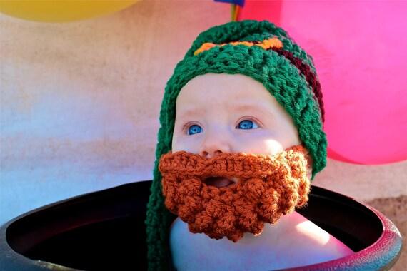 Leprechaun Costume Baby, Irish Beard, St. Patrick's Day Baby Outfit, Irish Baby Gift, St. Patrick's Day Baby Shower, St Patrick's Birthday