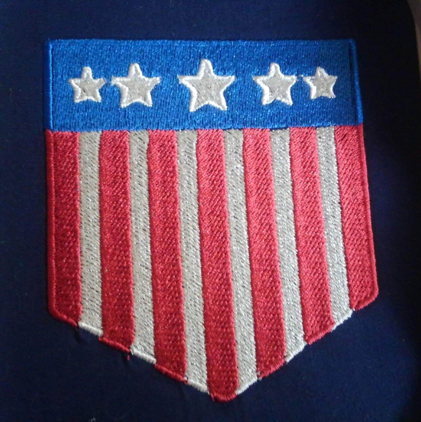 Judge Dredd Mega-City Flag Patch