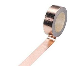 Rose Gold Washi Tape copper scrapbooking masking tape metallic