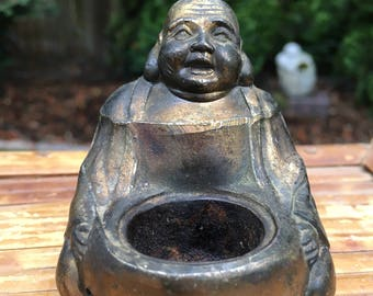 Vintage Brass Buddha Insence Made in Japan