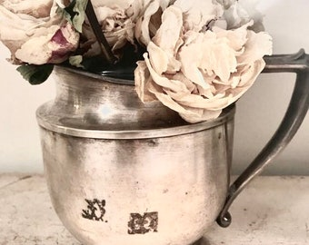 Beautiful pitcher silver