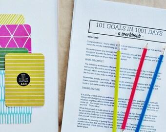 101 Goals in 1001 Days: A Workbook