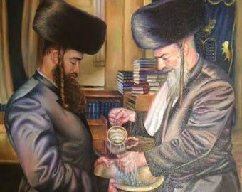 Netilat Yadayim by Olga Magazanik