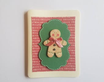 Ginger Bread Man Holiday Card Set