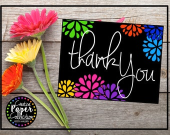 Thank You's (Bold and Bright): Notecards and Envelopes (20 Pack)
