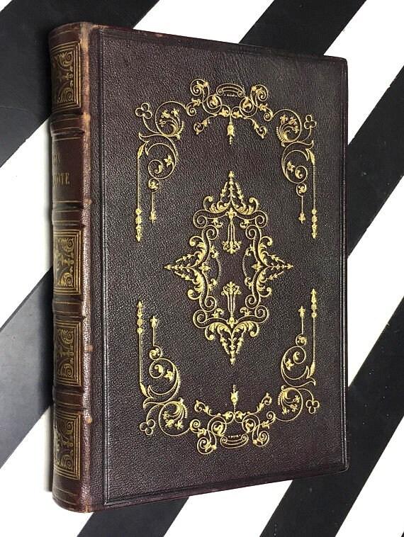 Don Quixote de la Mancha translated from the Spanish of Miguel de Cervantes Saavedra (1842) hardcover book